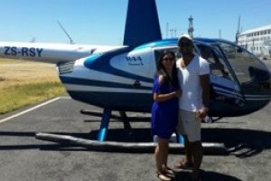 Sky High - Helicopter Ride Date