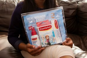 My wound care routine with Elastoplast