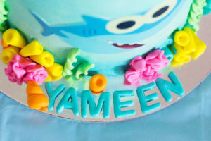 Yameen's 2nd birthday party - Baby Shark theme